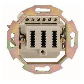 10010064 Rutenbeck TDO Anschlussdose 3x10 UP Produktbild