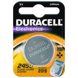 030428 Duracell 2450/B1 Knopfzelle (1 Stk.Bl.) 3V Lithium-Spezialbatterie Produktbild