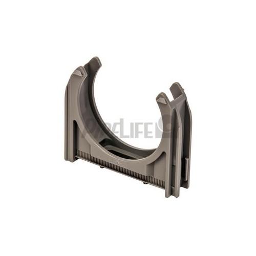 EC20GR SCHNABL 11081-EC20 Euro-Clip Rohrschelle grau Produktbild Front View L