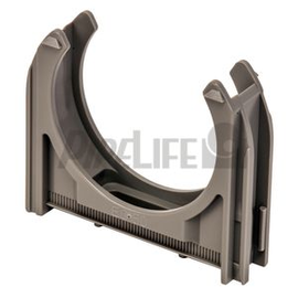 EC40GR SCHNABL 11201-EC40 Euro-Clip Rohrschelle grau Produktbild