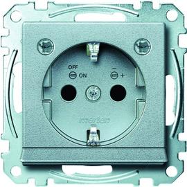 MEG2304-0460 MERTEN SCH-StDo+BRS+LED TPm alu SysM Produktbild