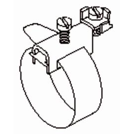 37/1/1000 Kleinhuis KLEINHUIS Erdungsbandschellen 17,5-300mm Rohrdm, 1 Produktbild