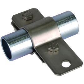 410389 Dehn Erdungsrohschelle D 76mm m. Anschlussbohr. D 11mm Niro Produktbild