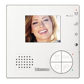 344502 Bticino Classe 100 V12B Video Hausstation AP 3,5 Zoll ohne Tasten Produktbild