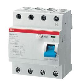 F204A-100/0,3 ABB FI-Schalter 4P Typ A 100A 300mA Produktbild