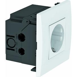 6119401 OBO SDE-RW D0RW1 Steckdosen- einheit Modul 45, 1fach 84x84x59mm Produktbild