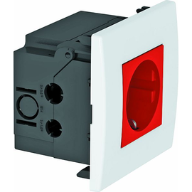 6119403 OBO SDE-RW D0RT1 Steckdosen- einheit Modul 45, 1fach 84x84x59mm Produktbild
