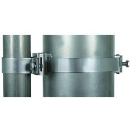 105360 DEHN Befestigungsschelle f. Rohre D=50mm m. Spannband D=90-300mm f. DEHNis Produktbild