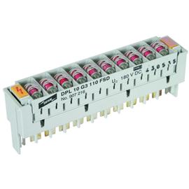 907216 DEHN Überspannugsableiter DEHNrapid LSA Schutzblock für 10 Doppela Produktbild
