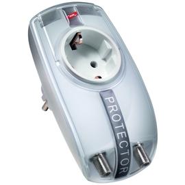 909300 DEHN Überspannungsableiter DEHNprotector Kom- biadapter für Energie Produktbild