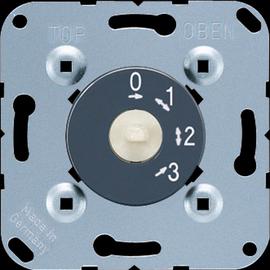 1101-4 EURO UNITECH Drehschalter 3-Stufenschalter Produktbild