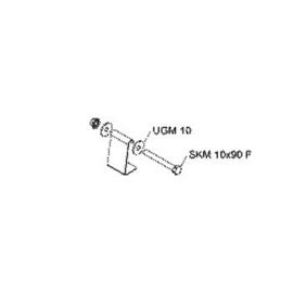 931729 NIEDAX HDS 60.40. F Hängestiel- Distanzprofil für U6040 Produktbild