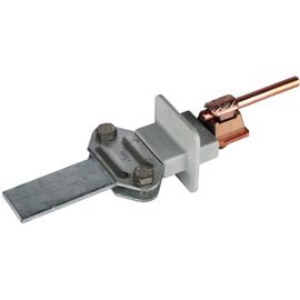 460147 DEHN Zweimetall-Trennklemme Cu-St/tZn m. KS-Verbinder f.6-10/Fl 16mm Produktbild