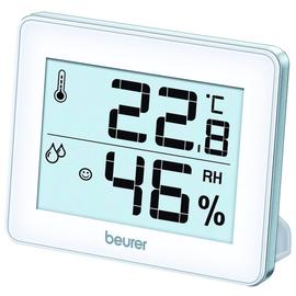 679.15 (6) Beurer Thermo-Hygrometer HM16 Temperatur+Luftfeuchtigkeit inkl.CR2025 Produktbild