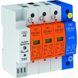 5097432 OBO V25-B+C 3+NPE+AS Combi- Controller V25+Akustiksignalisierung+NPE Produktbild