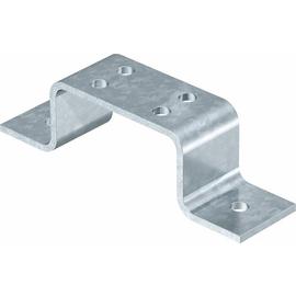 5016037 OBO 1805 4 FT Erdanschlussblock für 4 Anschlussleitungen 50x5mm Stahl ta Produktbild