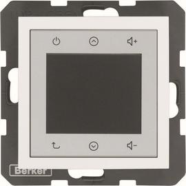 28848989 BERKER S.1/B.x Radio Touch einzeln polarweiß glänzend Produktbild