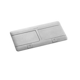 054013 VAN-GEEL Unterflurauslass Alu Popup 2x4Mod Produktbild