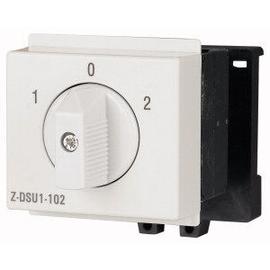 248869 Eaton Z-DSU1-102 Drehschalter f. Reiheneinbau 1pol.UM 1-0-2 Produktbild