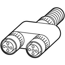 290424 Eaton RA-XM12-Y Rapid Link M12-Y-Sensorverteiler Produktbild