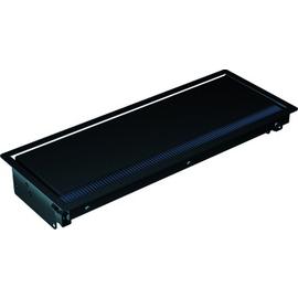 911.003 Bachmann Einbaurahmen Coni schwarz RAL9005 lang Produktbild