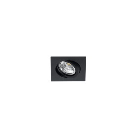 MY-6810-S Leuchtwurm Einbaustrahler schwarz-satin o. Fassung Produktbild