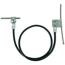 365509 DEHN Anschlussset Seilanlagen 16mm² L 1000mm Cu mit Lasche D 6mm NIRO Produktbild