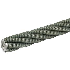 801050 DEHN Seil 10mm 42mm² St/galZn (114x0,65mm) R 100m Produktbild