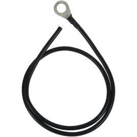 929096 DEHN Erdungsleitung Cu 16mm² L 1000mm mit Ringkabelschuh Bohrung 17mm Produktbild
