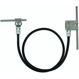 365519 DEHN Anschlussset Seilanlagen 16mm² L 1000mm Cu mit Lasche D 8mm NIRO Produktbild