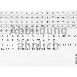 004969 LEGRAND Lexic Set m.bez.Etiketten Produktbild
