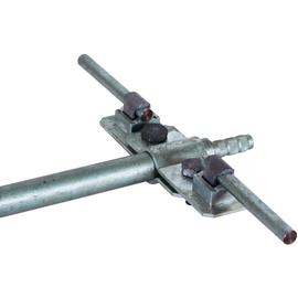 620012 DEHN TE-Anschlussschelle St/tZn D20mm beidseitig+KS-Verbinder f.Rd7-10mm Produktbild