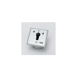 111GE161302 Faac ES-EPZ 1-2T(R)/2 2-fach Tast. o.rast. Schlüsselschalter Produktbild