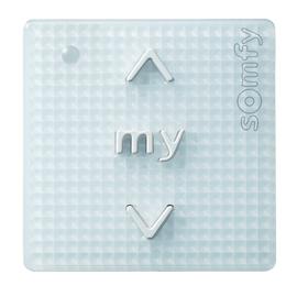 1811272 Somfy Smoove Origin IB ohne Rahm Zentral/Einzeltaster weiss Produktbild