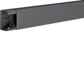 LF4006009011Hager Leitungsführungskanal 40060 graphit schwarz Produktbild