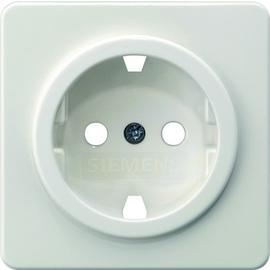 5UH1047 Siemens Zentralstück für Schuko Delta Profil Titanweiss 5UB1403 Produktbild