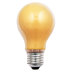 40247 Scharnberger Glühlampe 25W E27 gelb Produktbild