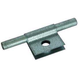 345010 DEHN Klemmschuh St/tZn m. Bohrung D 11mm f. Rd 10mm Produktbild