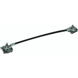 365419 DEHN Überbrückungsseil Cu 16mm² L 400mm m. 2 Falzklemmen 0,7-10mm NIRO Produktbild