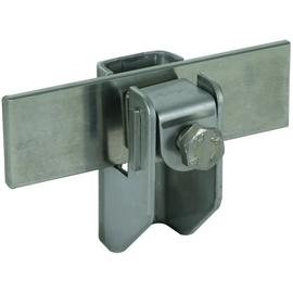 277239 DEHN Flachbandhalter m. Druck- stück NIRO f. Rd 6-10/Fl...11mm Produktbild