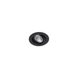 MY-6800-S Leucht Wurm Einbaustrahler schwarz LA: 68mm max. 50W 12V Produktbild