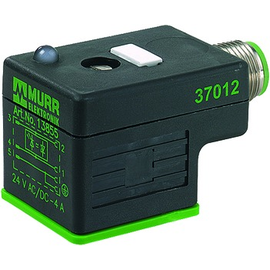 7000-41421-0000000 Murr Elektronik Ventilstecker 18mm 3-pol. M12 LED Produktbild