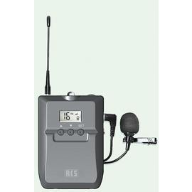 UBT-016 RCS UHF-Taschensender 863-865MHz mit Ledertasche Produktbild