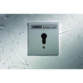 5009V000 Sommer Schlüsseltaster im Metallgehäuse 2-Kontakt ohne Zylinder Produktbild