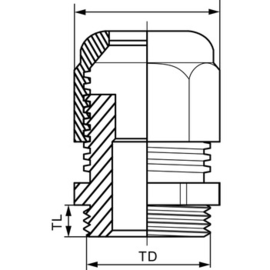 ISM71504 SCHNEIDER E KABELVERSCHRAUBUNG IP68 M25 Produktbild