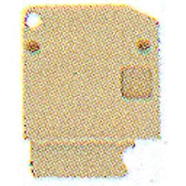 0117970000 WEIDMÜLLER AP SAK4-10 KRG/BL Abschluss- und Zwischenplat Produktbild