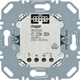 WUC35 HAGER Relaiseinsatz 1fach Produktbild