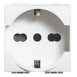 N4140/16 Bticino STECKDOSE SCHUKO + ITAL Produktbild