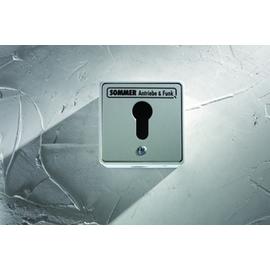 5010V000 Sommer Schlüsselschalter im Metallgehäuse AP 2-Kontakte o. Zylinder Produktbild