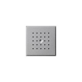 141665 GIRA Türlautsprecher Aufsatz Alu TX44, 424011 Produktbild